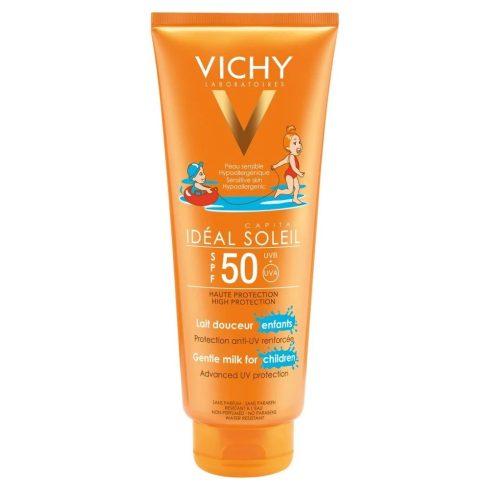 VICHY Capital Soleil Napvédő tej gyermekeknek SPF 50+ 300 ml