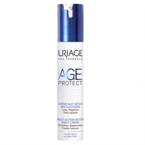 Uriage AGE PROTECT DETOX éjszakai ránctalanító krém 40ml - V